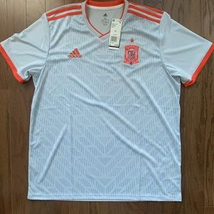 new Authentic Adidas Spain Away 2018 World Cup
